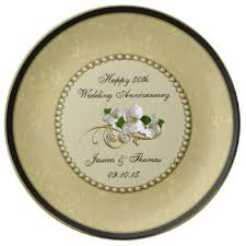50th wedding anniversary plates golden wedding gift ideas uk lading for