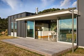 modern home architects best pekapeka beach house design by parsonson architects home