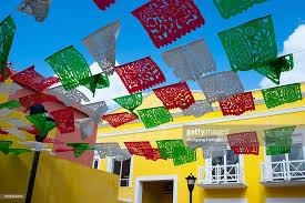 mexican papel picado decorations a in san miguel