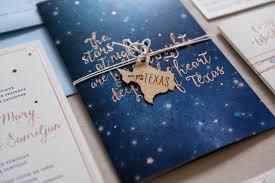 wedding invitations rose rose gold foil night sky wedding invitations