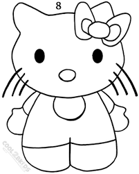 draw kitty step step pictures cool2bkids