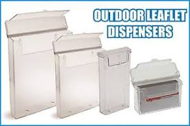 Business Card Dispensers A4 A5 Dl Business Card Outdoor Leaflet Holders Waterproof