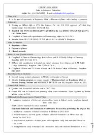 Clinical Pharmacist Resume Ashishkumar Tailor Cv