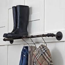 lai home iron clothing rack wall mounted coat rack bathroom wall