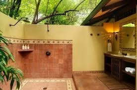 open bathroom designs open sky bathroom an application of the organic concept in eco