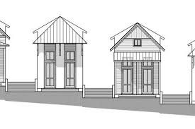 Modern Shotgun House Plans Serenbe Announces 6 Mid Price Homes To Entice Atlantans Southward