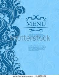 wedding backdrop design vector vintage royal vector design template stock vector