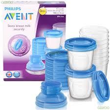 Formula Milk Storage Containers Avent Via 180ml Breast Milk Storage Containers Philips Avent