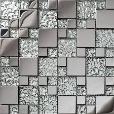 Metallic Kitchen Backsplash by Online Get Cheap Metallic Tile Backsplash Aliexpress Com