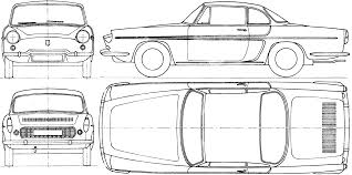 renault caravelle renault caravelle 1962 blueprint download free blueprint for 3d