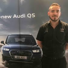 audi uk customer services telephone number swansway service advisor gets audi uk call up motor trade