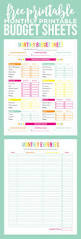 Budget Calculator Excel Spreadsheet Best 25 Monthly Budget Ideas On Pinterest Tips To Save Money