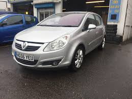 vauxhall corsa 1 2 diesel manual 5 door hatchback 2006 silver in