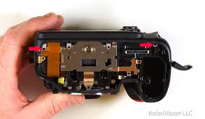 nikon d7000 infrared conversion diy tutorial and disassembly guide