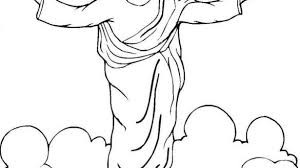 coloring page of jesus ascension jesus coloring pages coloring book ribsvigyapan com coloring pages