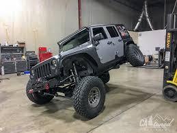 white jeep jku catuned off road project jeep wrangler unlimited jku build