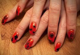 halloween nail art designs short nail designs