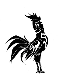 tribal rooster eyecatchingtattooscom rooster everywhere