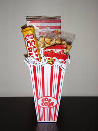popcorn baskets 7 best popcorn basket images on made gifts gift