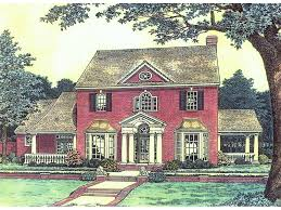 georgian style home plans abraham georgian style home plan 036d 0192 house plans and more
