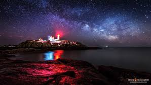 light house at night cape neddick lighthouse today s image earthsky