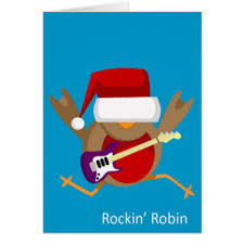 christmas robin gifts on zazzle