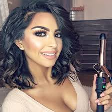 wand curl styles for short hair 25mm cl curling wand iron bombay hair