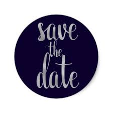 save the date stickers modern save the date stickers zazzle co uk