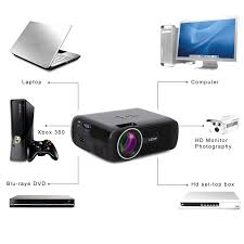 amazon com mini projector leshp 1080p hd 3d projector with 5 0