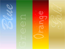 orange gold green blue your true colors u2013 yes that u0027s you