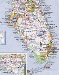 Florida Usa Map by South Florida Road Map