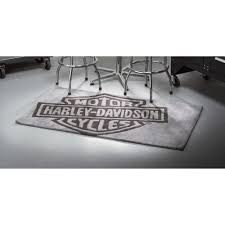 Harley Davidson Home Decor Catalog Small Harley Davidson Bar U0026 Shield Area Rug U2014 5ft L X 3ft W Www
