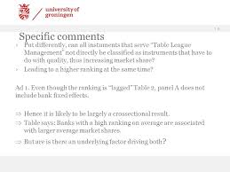 Investment Banking League Tables Discussion Of The Perverse Effect Of Investment Bank Ratings