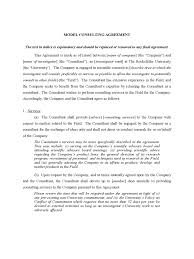 consultant agreement template 8 free templates in pdf word