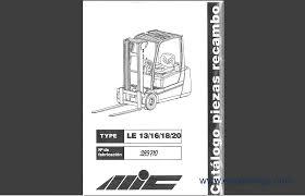 steinbock boss spare parts catalog forklift trucks manuals