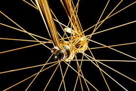 gold maserati logo 24k gold racing bike costs rolls royce wraith money autoevolution