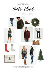 hunter green plaid for casual fall pictures family