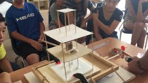 earthquake proof building design grade 8 science project youtube