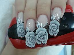 these some pictures of nail art designs that are currently popular