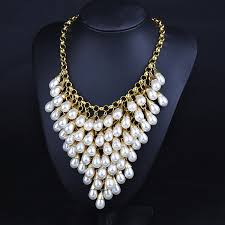 white pearl necklace designs images 2015 new design european style multi layer fashion and luxury fine jpg