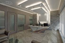 Ceiling Design For Office Cabin