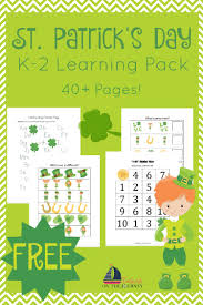 st patrick u0027s day printable and activities for kids