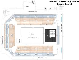 arena floor plans seating configurations