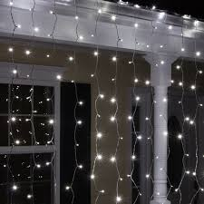 white led icicle lights the holiday aisle 150 cool white 5mm led icicle light set reviews