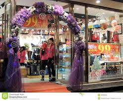 German Christmas Decorations Shop by China Shoes And Purses Shop Christmas Decorations Sales Editorial