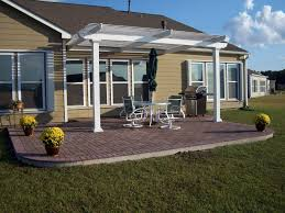 White Vinyl Pergola Kits by Pergola Design Ideas Attached Vinyl Pergola Kits Patio Cover In