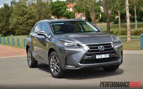 lexus nx 300h f sport 2015 2015 lexus nx 300h luxury review video performancedrive