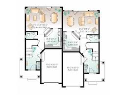 Eplans New American House Plan American Style Duplex Home 3220 American Floor Plans And House Designs