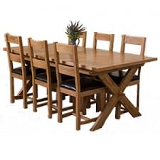 solid oak vermont dining sets free uk delivery