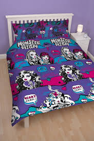 girls double bedding novelty bedding minnie mouse cafe double duvet cover set